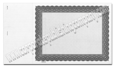 Goes® 4524 Black Harmony Certificates